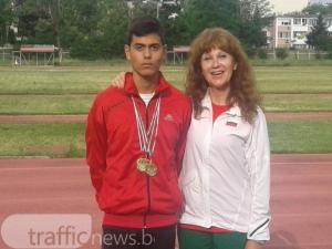 14-годишен талант победи носталгията и стана шампион в атлетиката