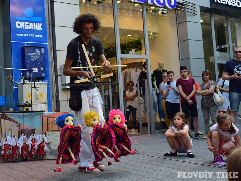 Художници на графити и кукловод се развихриха в Капана СНИМКИ