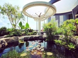 Правят увеселителен парк, лабиринт и водопад на летище в Сингапур