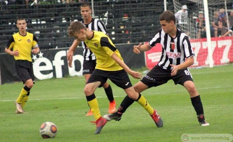 Ботев спечели Битката за Пловдив при 15-годишните