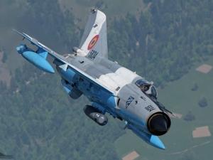 Румънски изтребител се разби при съвместно учение с българските ВВС
