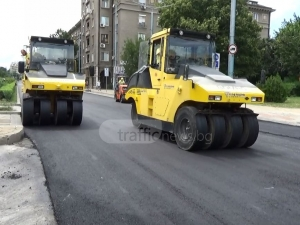 Пускат за движение най-скоро ремонтирания булевард в Пловдив