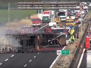Меле с български камион в Италия! Единият шофьор е загинал, другият е ранен ВИДЕО