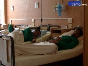 Болниците в Пловдив и Пазарджик си размениха по един от помляните мигранти