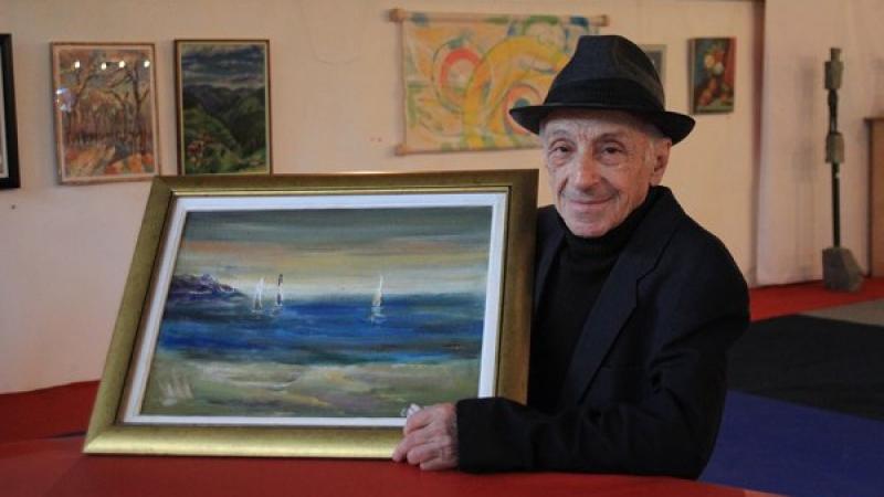 92-годишен пловдивски художник открива днес изложба