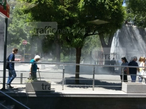 Пловдивчанка: Прах и прах! Виждаме какво дишаме в центъра на града СНИМКИ