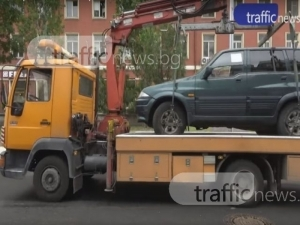 Паяци за половин милион лева ще вдигат масово коли по пловдивските улици