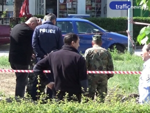 Военни вдигнаха еднометровата бомба в район Тракия ВИДЕО