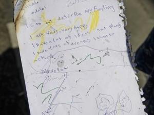 Детска бележка от Кулата на смъртта в Лондон разплака стотици СНИМКА