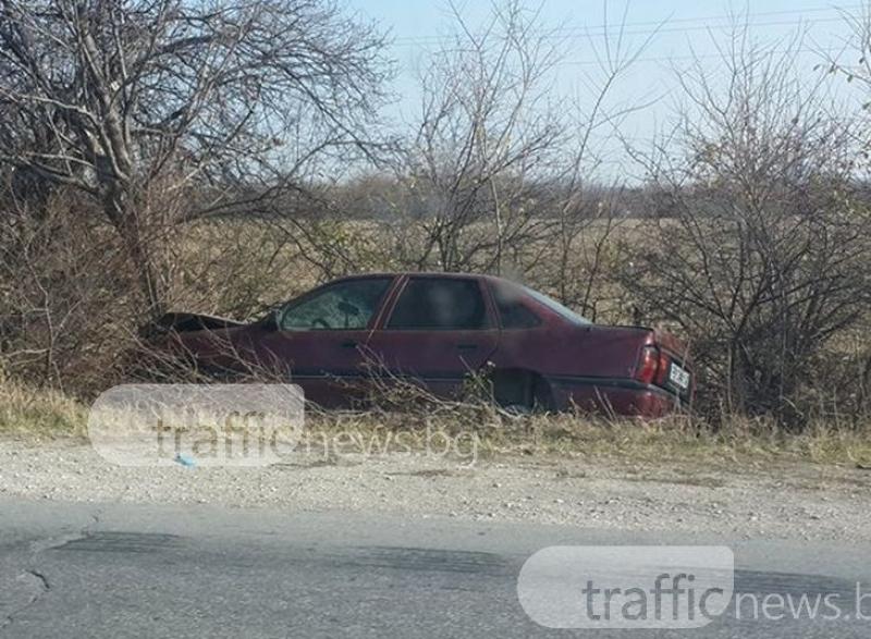 17-годишен шофьор е в болница след катастрофа край Асеновград