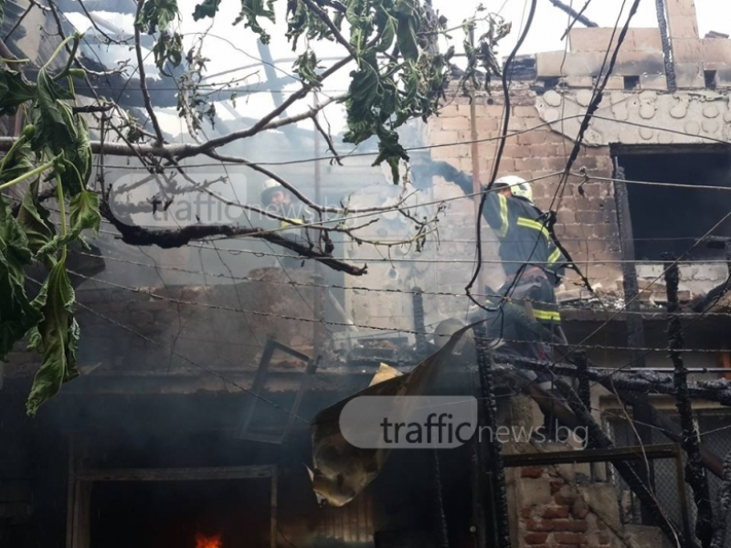 След огнения ад в Кючука: Децата останаха боси, всичко е изгоряло ВИДЕО