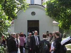 Осветиха параклиса на Пловдивския университет