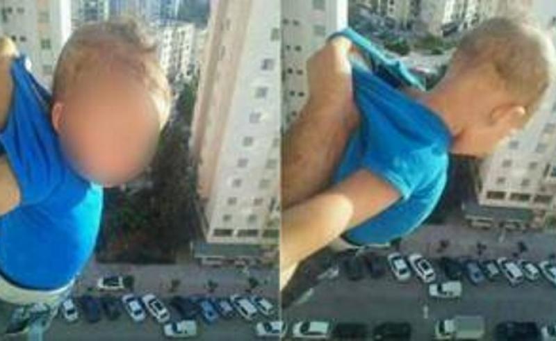 Баща провеси бебето си през прозореца на 15-ия етаж за... лайкове във Фейсбук