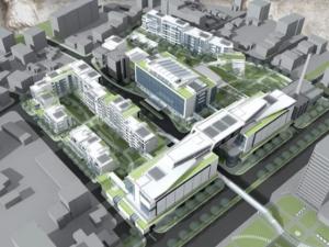 Разширяват улици край бившия завод на Каменица, подготвят 30 декара за строителство