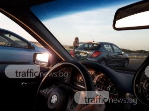 Три катастрофи за 500 метра на магистралата СНИМКИ