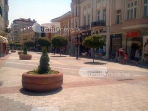 Опасни горещини в Пловдив, термометърът удря 41 градуса