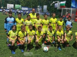 Малки футболисти от Пловдив завършиха втори на Мини Шампионска лига СНИМКИ