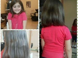 6-годишно дете дари косата си за перуки на онкоболни