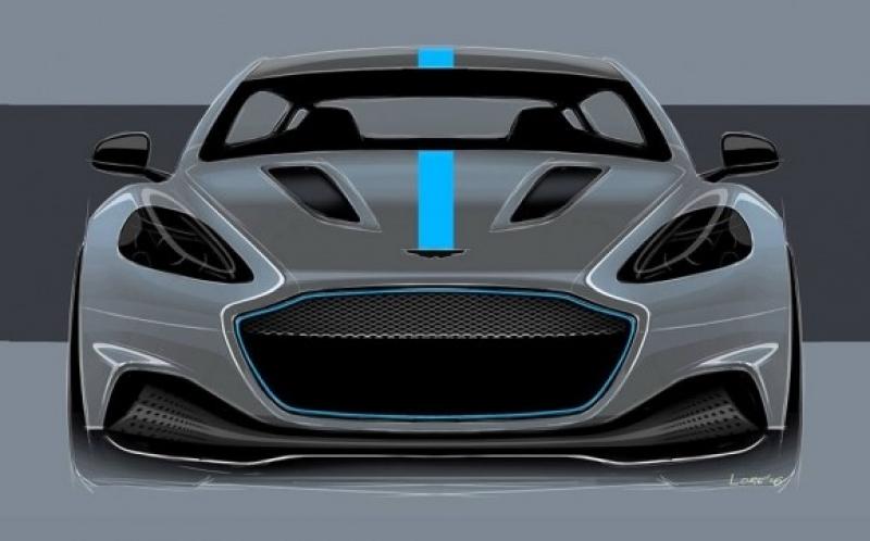 Aston Martin показа първия си електрически автомобил СНИМКА