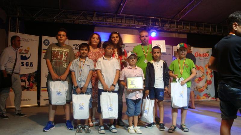Куп отличия за шахклуб Пловдив на фестивал в Румъния Снимки