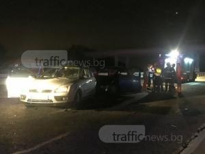 Смърт и петима в болница след катастрофите на магистралата край Пловдив СНИМКИ