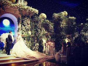 Богаташи вдигнаха сватба за 10 млн. долара СНИМКИ