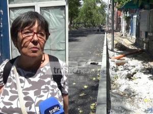 """Пловдивчанка, живееща на разкопания """"Руски"""" - с разбит под, контузен крак и доста нерви ВИДЕО"""
