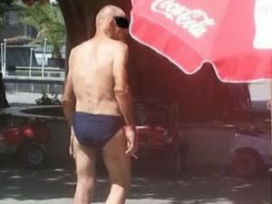Агресивен мъж по бельо виленее из Пазарджик, налита на бой