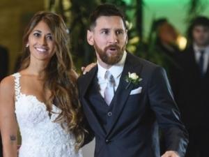 Бирата на сватбата на Меси останала неизпита