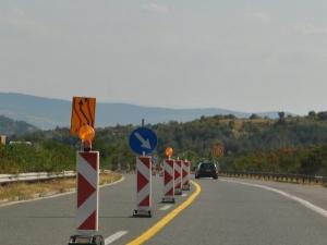 """Нови ограничения и масови нарушения на магистрала """"Тракия"""""""