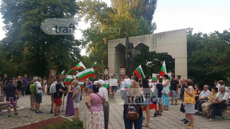 Валери Симеонов се среща с протестиращи от Асеновград днес