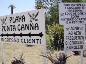 Фашистка пропаганда заля скандален плаж