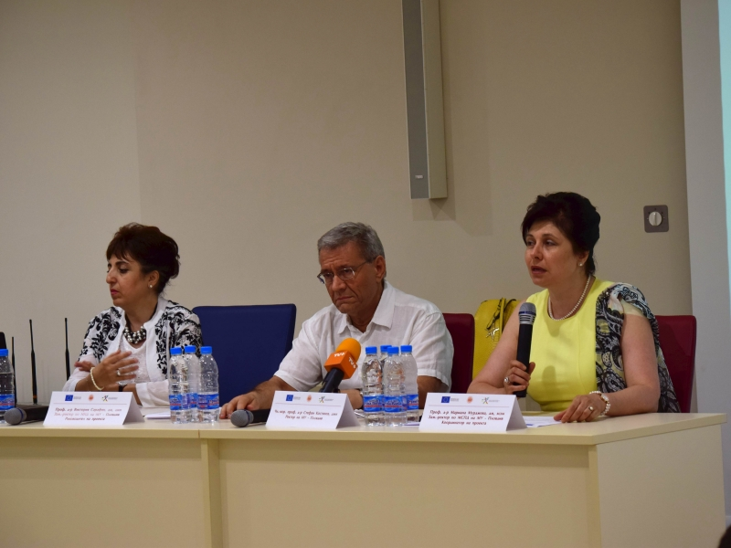 За първи път: Педагогическа академия започва работа в МУ-Пловдив ВИДЕО