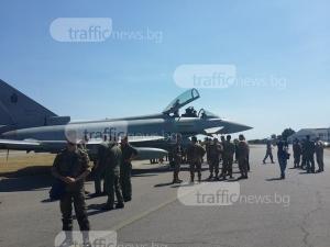 Италиански изтребители ще кръжат в небето над Пловдив СНИМКИ и ВИДЕО