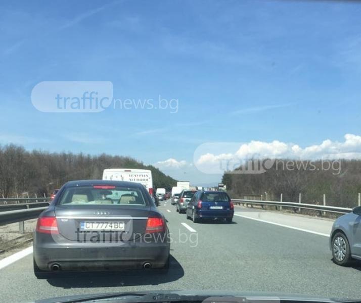 На есен: Тапи по магистрала Тракия, стартира ремонт