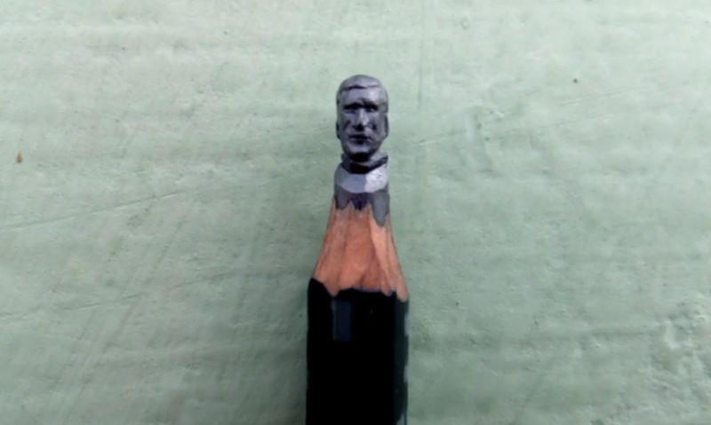 Да извайваш скулптури върху… моливи ВИДЕО