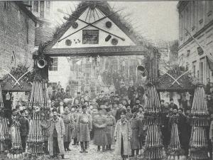 Триумфалната арка на входа на Стария Пловдив