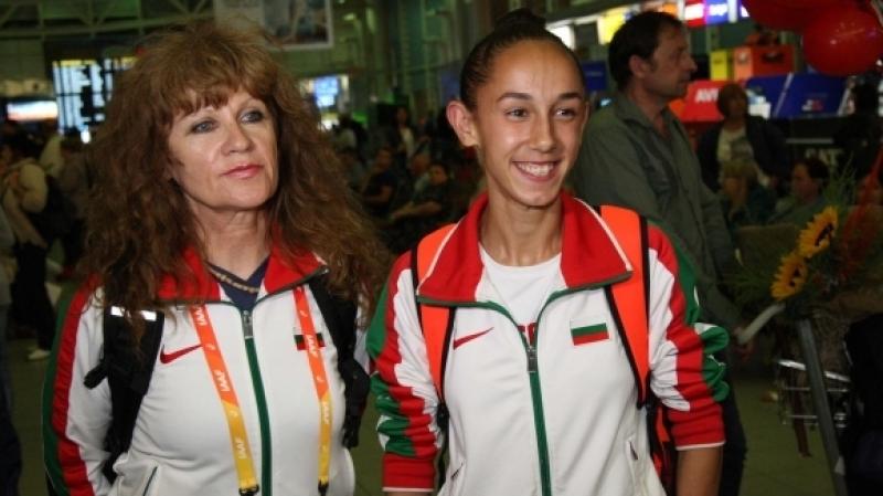 Силна болка спряла Лили Георгиева за медал на световното