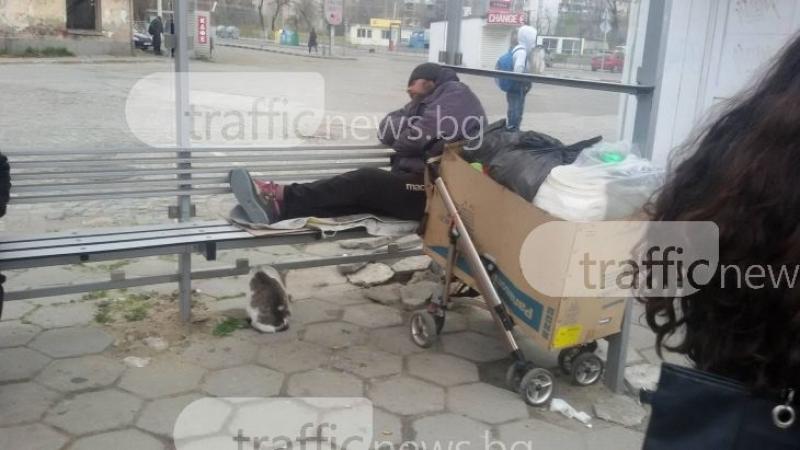 Бум на изоставени възрастни хора и бездомни лица през летните месеци в Пловдив