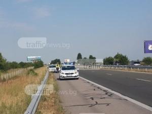 За 2 седмици: Заснеха 424 джигити с бясна скорост на магистралата край Пловдив