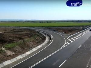 Нова връзка с магистралата близо до Пловдив спестява 30 минути път ВИДЕО