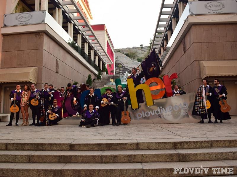 Испанци превзеха Главната на Пловдив СНИМКИ