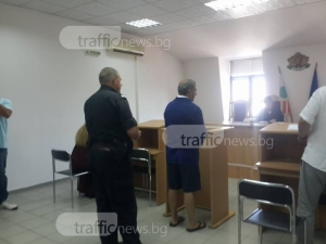 Биячът на мъжа и бременната жена се изправи пред пловдивския съд, брат му бил в тежко състояние СНИМКИ