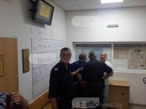 Оставиха в ареста единия от братята хулигани, които биха бременна жена на магистралата край Пловдив СНИМКИ