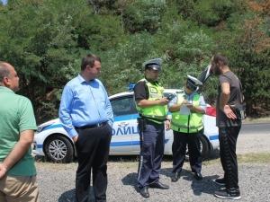 Областен управител задържа мъртвопиян шофьор, предотврати тежък инцидент