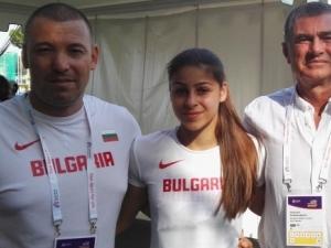 С нов рекорд Алекс Начева остана на 4 сантиметра от бронз на европейското