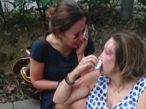 Пребитите майка и дъщеря са адекватни, изписват ги до дни