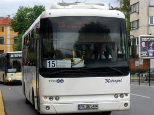 """Затвориха източното платно на """"Васил Априлов"""", автобусите с нов маршрут"""
