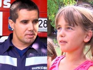 Пожарникар пренесъл на гръб през реката бедстващите деца! Разкази от първо лице ВИДЕО
