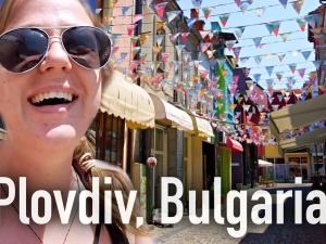 Английска влогърка се влюби в Пловдив ВИДЕО